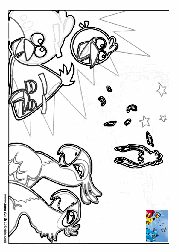 angry birds rio coloring pages angry bird rio coloring pages