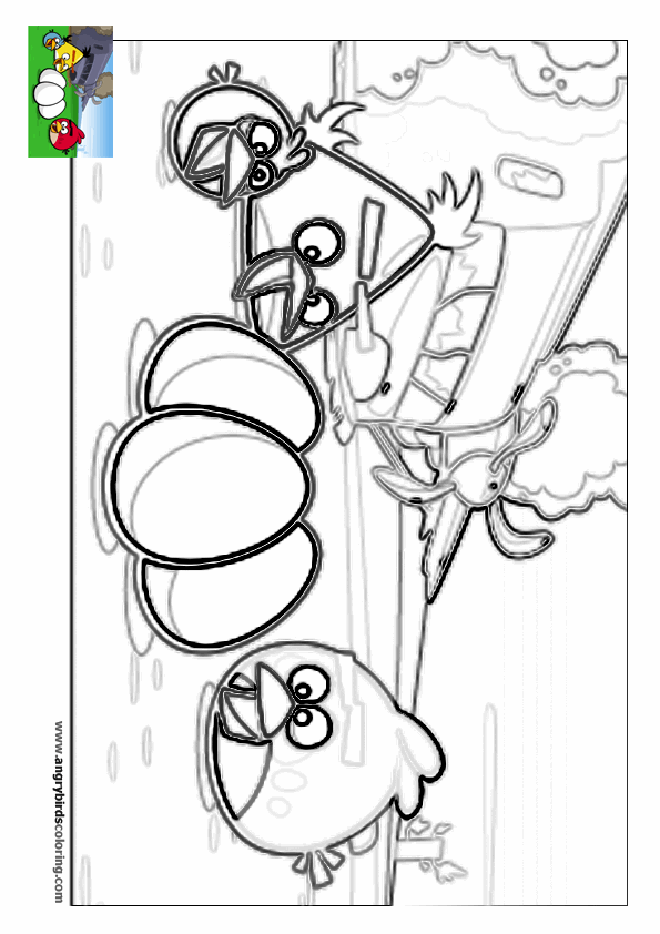Angry birds rio for coloring 12 for Angry birds rio coloring pages
