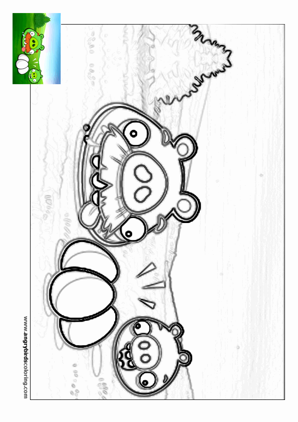 Angry birds rio for coloring 14 for Angry birds rio coloring pages