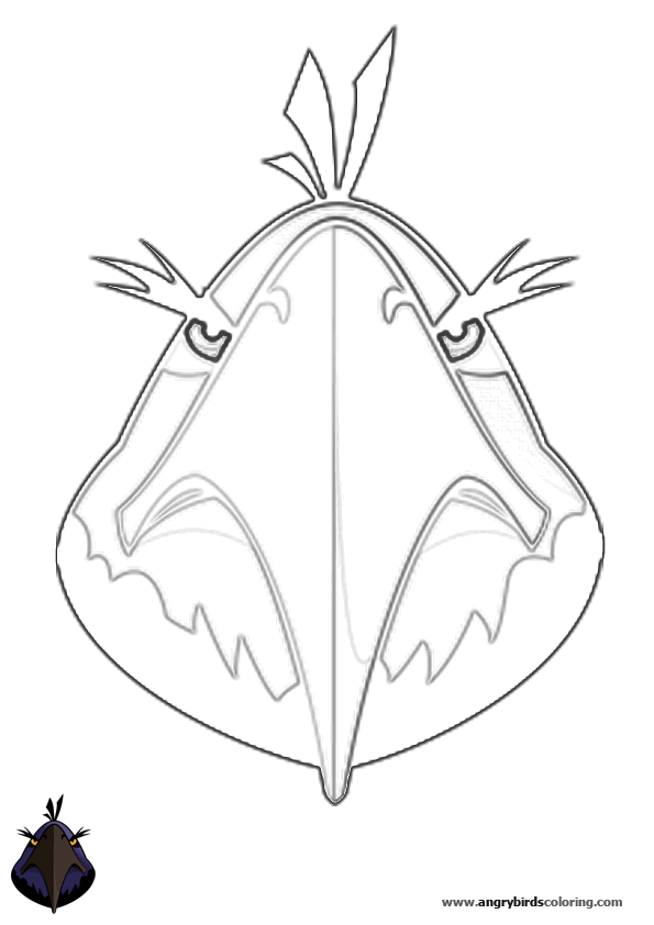 Images Angry Birds Space Coloring Pages Lazer Bird Wallpaper